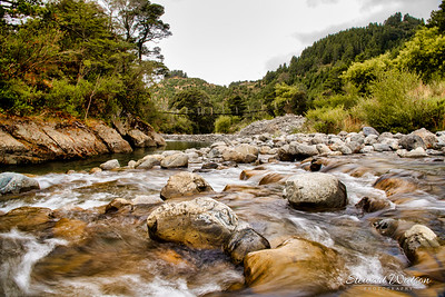 Waingawa river Rapids, Mount Holdsworth Wairarapa