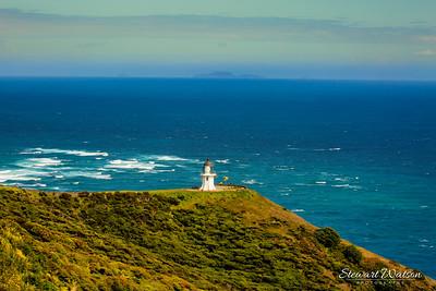 The far north of NZ where the Tasman Sea meets the Pacific Ocean i