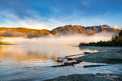 Wakapitu lakeside towards the Glenorchy end