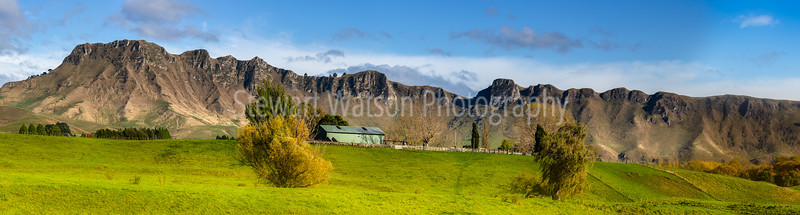 Farming under the mountain peaks of Hawkes Bay New Zealand