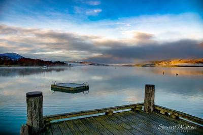 Glenorchy, Lake Wakatipu at dawn