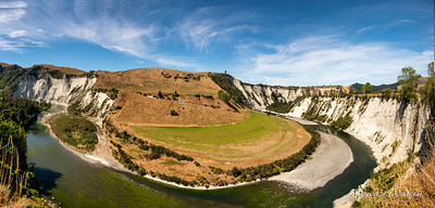 Rangaitikei River flowing through deep canyons near Managaweka