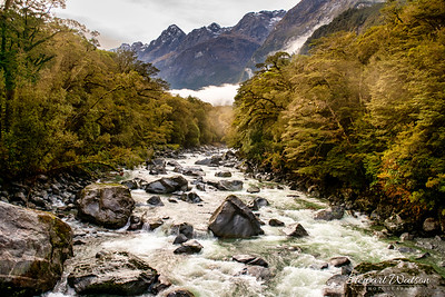 Tutoko River Milford Sound Highway