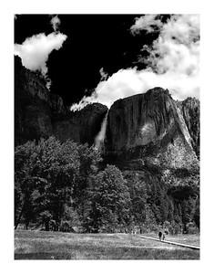 Yosemite Falls BW DSC_5525 Yosemite Falls BW