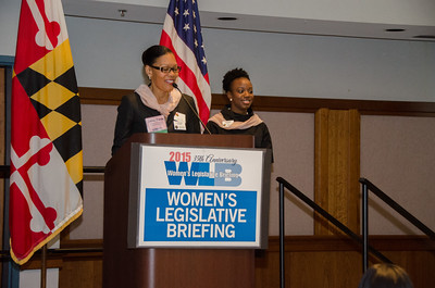 Montgomery County Commission for Women - Legislative Briefing - 2015