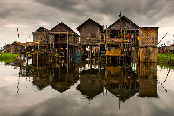 Stilt House-  Inle Lake, Myanmar