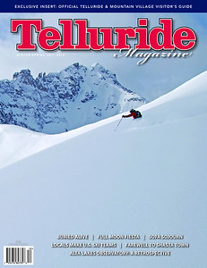 Telluride Magazine winter 2012 cover