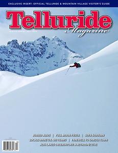 Telluride Magazine winter 2012 cover
