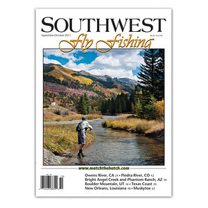 Southwest Fly Fishing Sept/Oct 2011 cover
