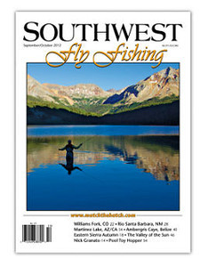 Fall 2012 Cover Southwest Flyfishing magazine