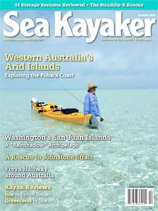 Sea Kayaker Cover October 2009