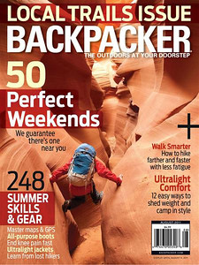 August 2011 Backpacker Magazine Cover