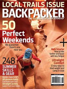 August 2011 Backpacker Magazine Cover