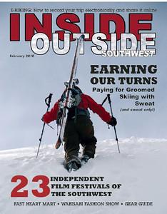 Inside Outside Southwest February 2010 Cover