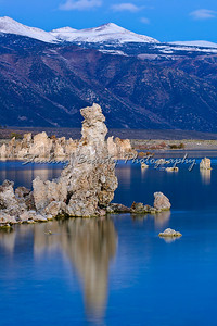 Mono Lake dawn show