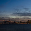 San Francisco twilight from Treasure island