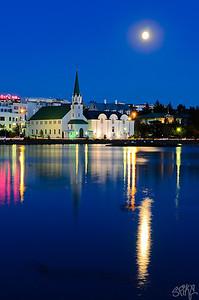 Reykjavik evenings