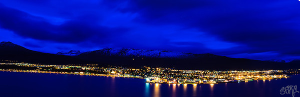 Akureyri twilight