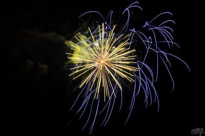 Richmond Craneway Fireworks