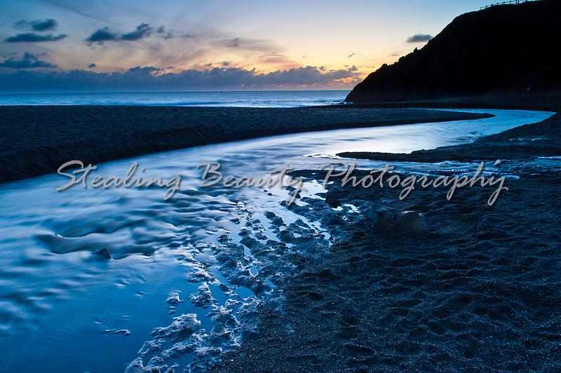 Rodeo Beach dusk