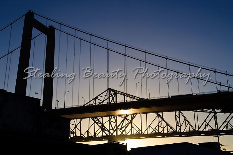 Carquinez Bridge sunrise