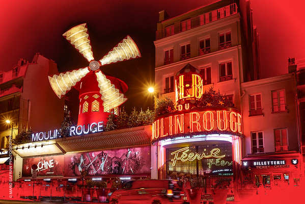 Feerie,  Moulin Rouge Paris 2019.   Images with permission of Moulin Rouge