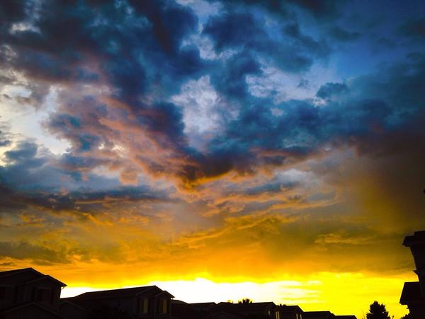 Sunset Enhanced