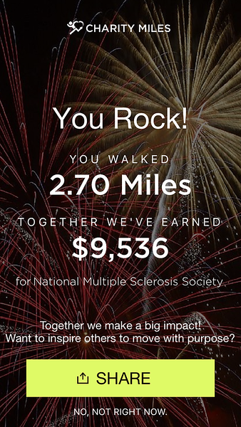 2.7 miles for NMSS