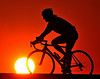 Couldn't resist trying the silhouetted cyclist one more time.