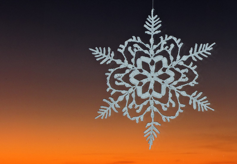 Precarious Peak Snowflake