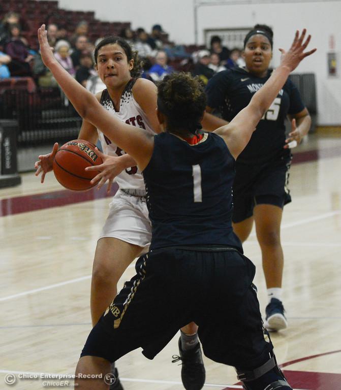 . Chico State hosts Monterey Bay girl\'s basketball, Thursday, February 1, 2018, in Chico, California. (Carin Dorghalli -- Enterprise-Record)