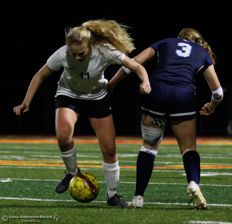 . Chico High hosts Pleasant Valley girl\'s soccer, Friday, January 19, 2018  in Chico, California. (Carin Dorghalli -- Enterprise-Record)