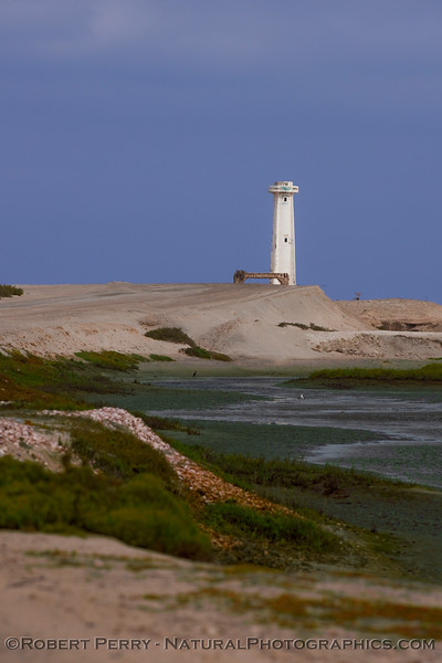 Halo viejo - the old lighthouse - Guerrero Negro.