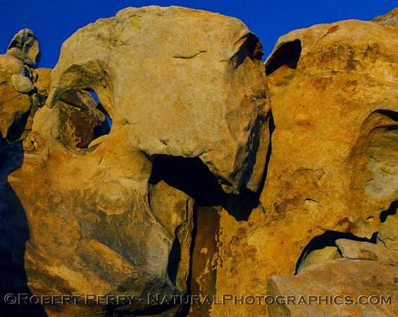 Rock formations near Catavina.