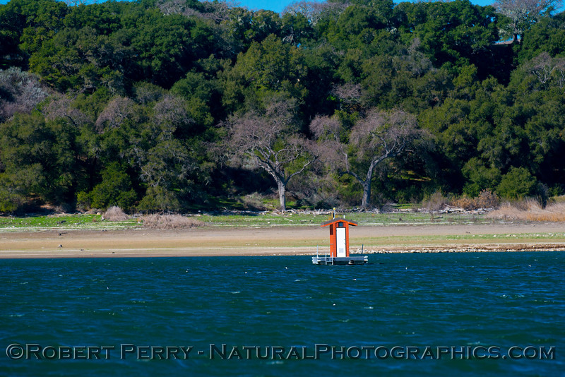 floating out house 2013 01-27 Lake Cachuma-002