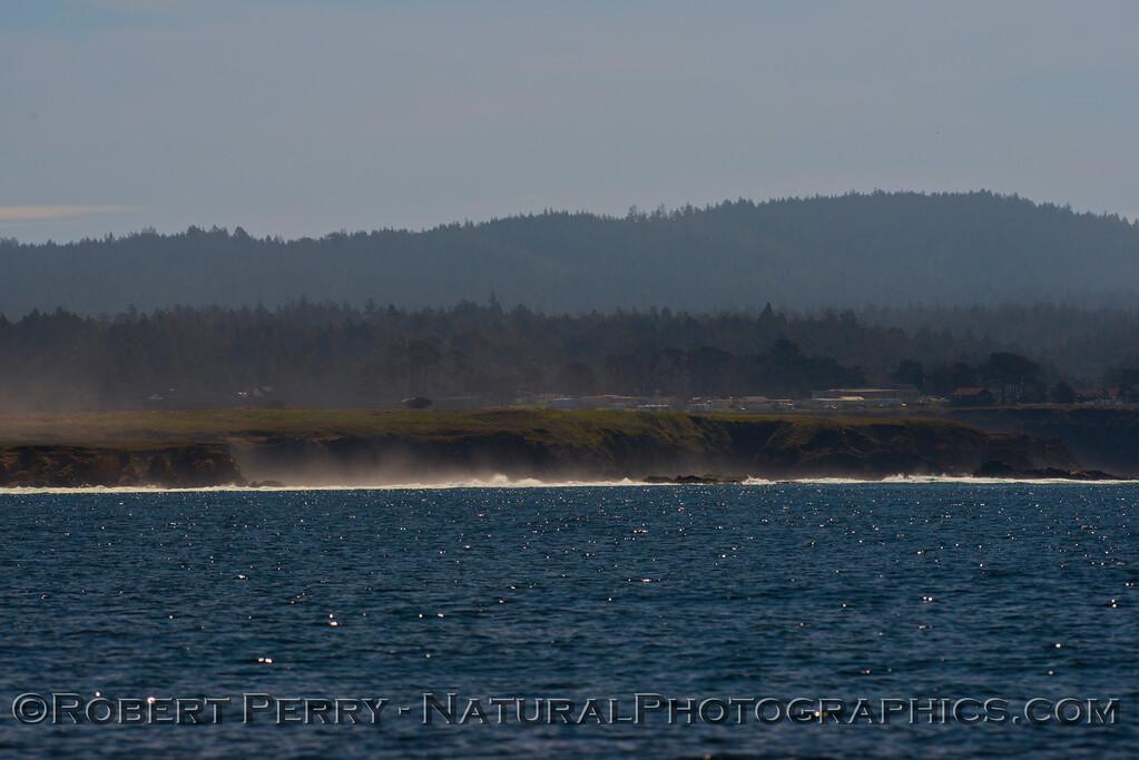 Fort Bragg headlands.