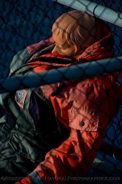Coast Guard manequin...resting.