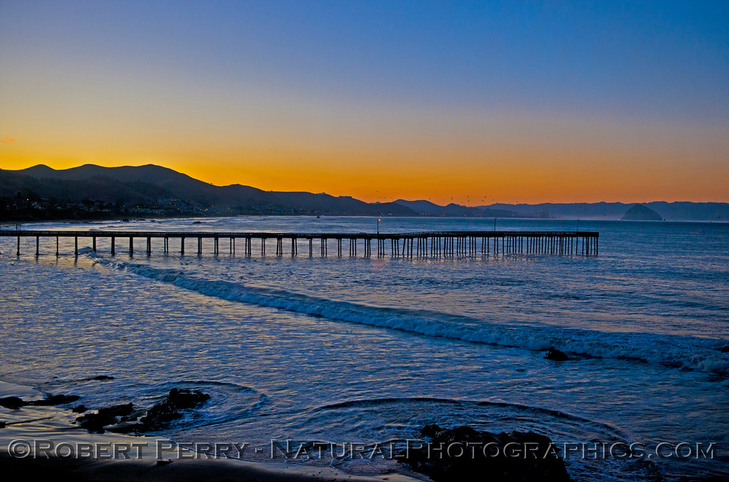 Sunrise - Cayucos Pier