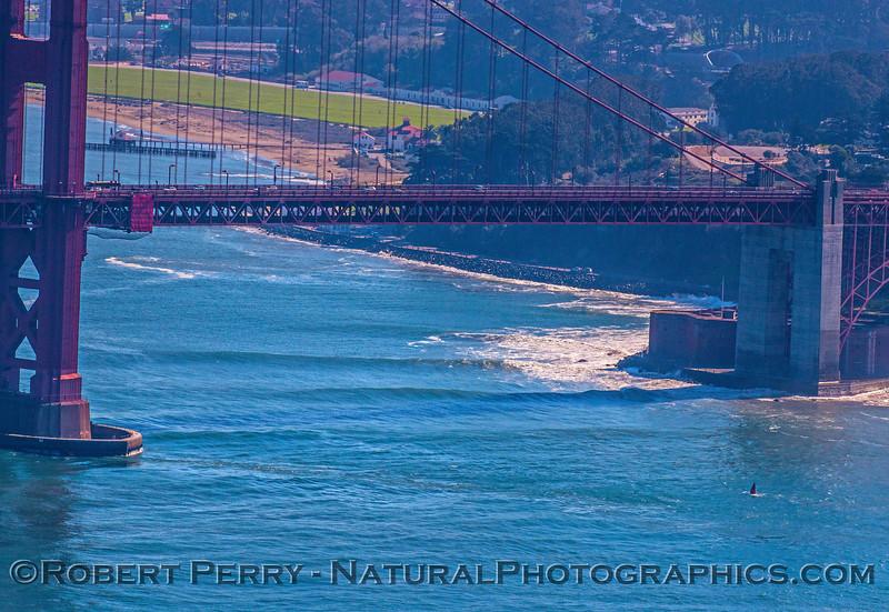Fort Point surfing - golden gate park.