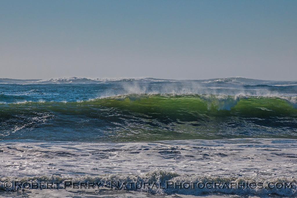 Big surf - Rodeo Beach.