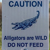 Sign - Aransas National Wildlife Refuge.