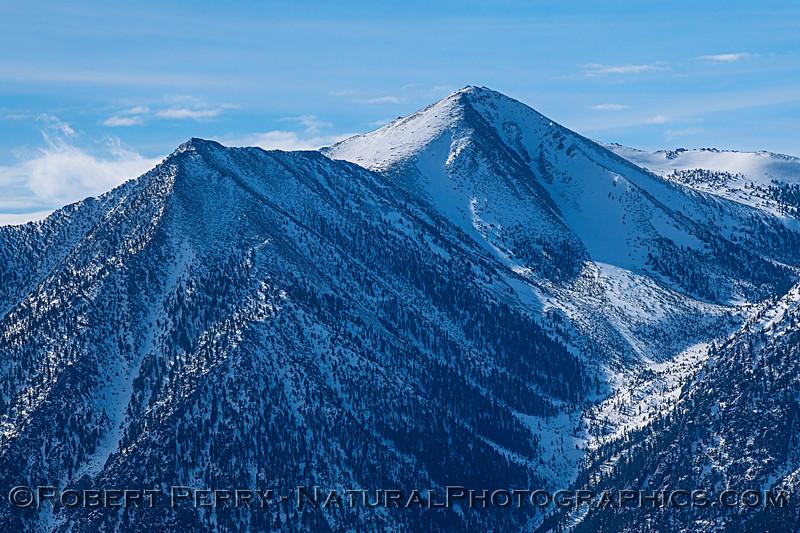 Jobs Peak above Carson Valley NV