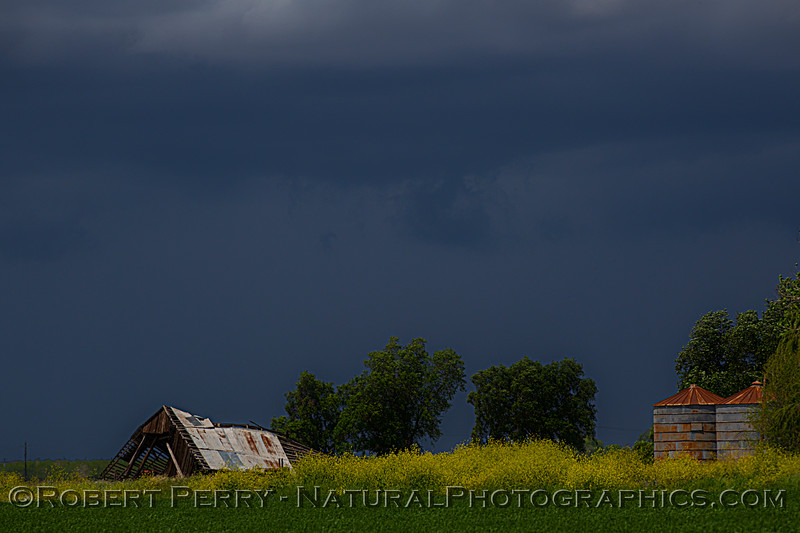 storm clouds ag fields old barn 2021 04-25 Colusa Cnty-020
