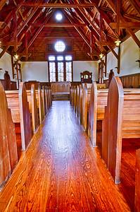 Barnwell Chapel Interior