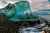 Jökulsárlón beach Vatnajökull National Park Iceberg
