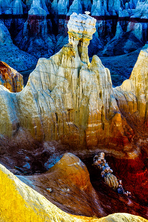 Hoodoo, Coal Mine Canyon, Arizona