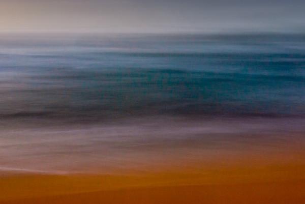 Ocean abstract.  Kauai, Hawaii