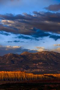 Evening light, Capitol Reef, Utah