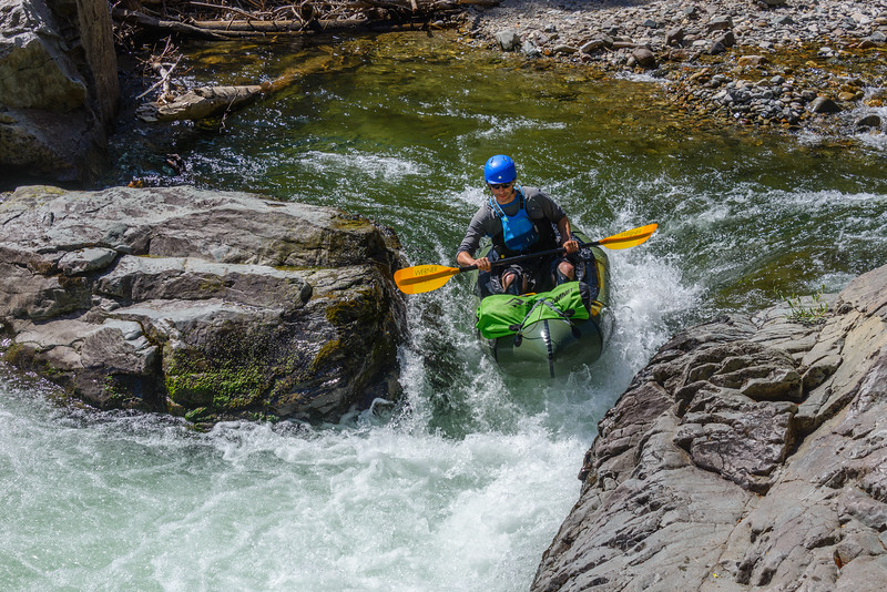 <br>Though the calm sections are punctuated by a few fun rapids.