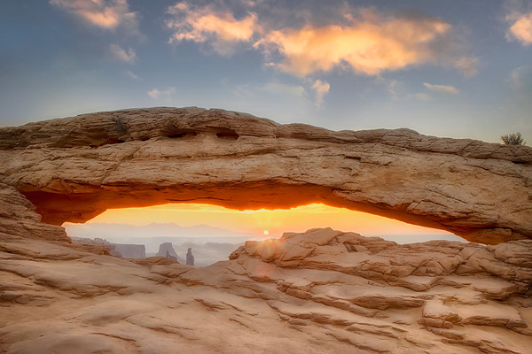 Canyonlands National Park Mesa Arch At Sunrise